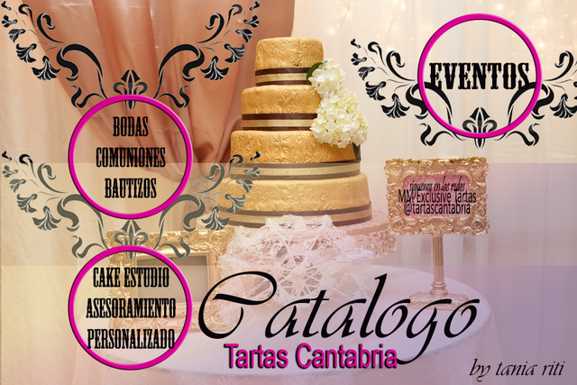 TARTAS CANTABRIA, ARTE Y SABOR  FONDANT - foto 3