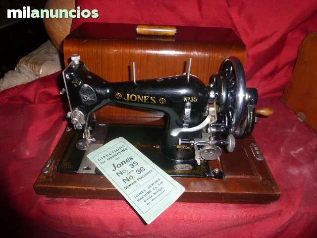 ANTIGUA MAQUINA DE COSER JONES Nº 35 - foto 1