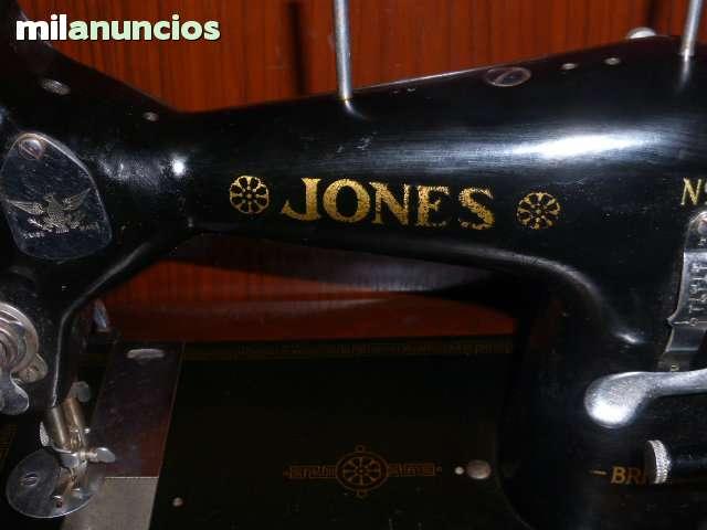 ANTIGUA MAQUINA DE COSER JONES Nº 35 - foto 2