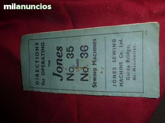 ANTIGUA MAQUINA DE COSER JONES Nº 35 - foto 7