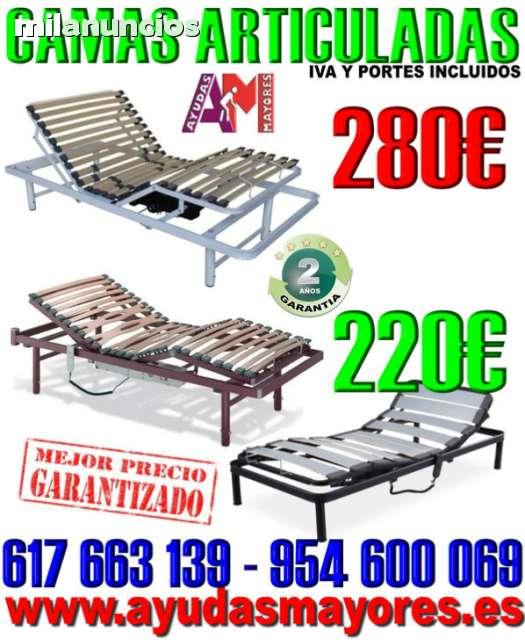 SOMIER ARTICULADO - CAMAS ELECTRICAS
