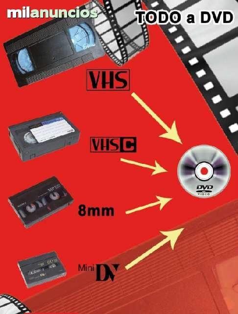 PASO CINTAS A DVD - OFERTON 10 CINTAS X 69