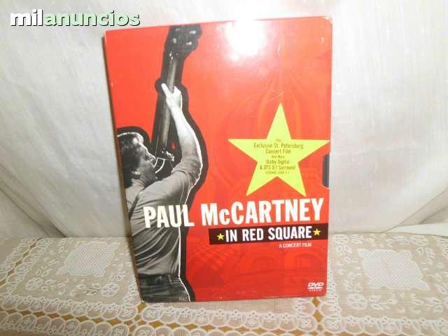 DVD PAUL MCCARTNEY IN RED SQUARE