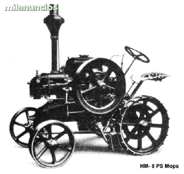 TRACTOR LANZ HM 8 PS