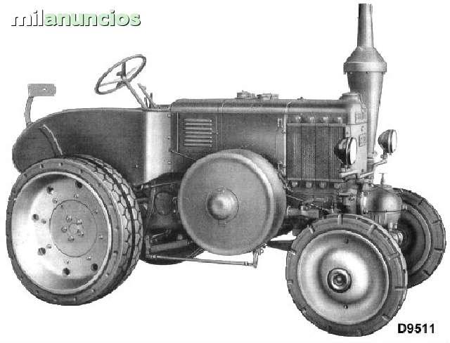 TRACTOR LANZ HR8 D95