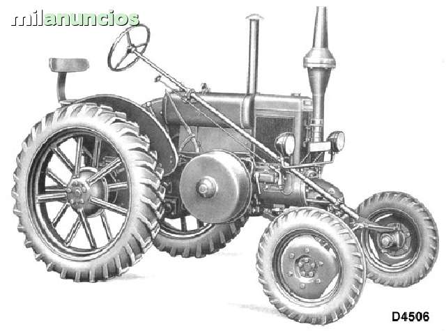 TRACTOR HD D4