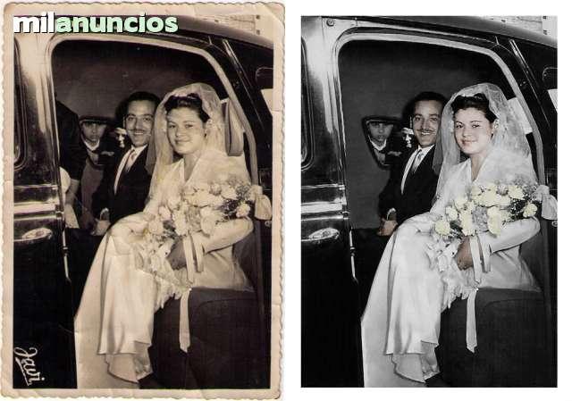 RESTAURACIÓN,  RETOQUE Y MONTAJE DE FOTOS - foto 1