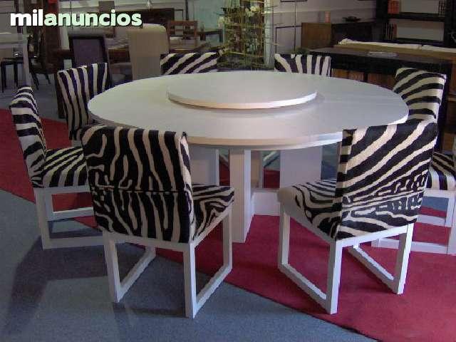 MIL ANUNCIOS.COM - Mesa redonda extensible. Mesas mesa redonda ...