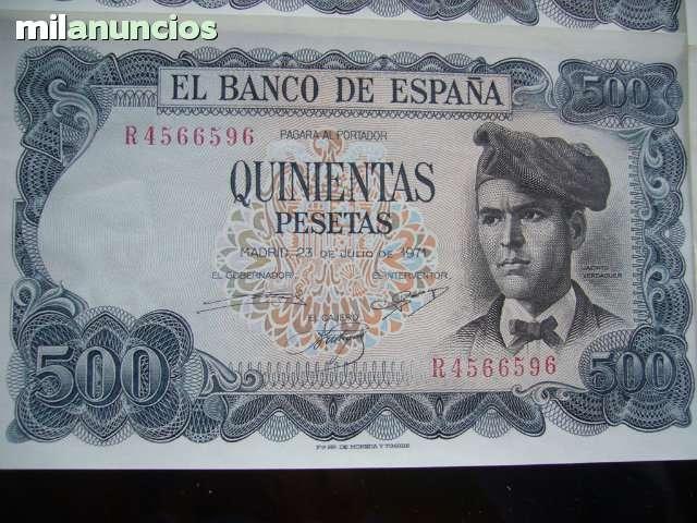 Billete 500 Ptas 1971 Nuevo