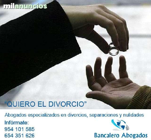 SEPARACIONES,  DIVORCIOS Y NULIDADES - foto 1