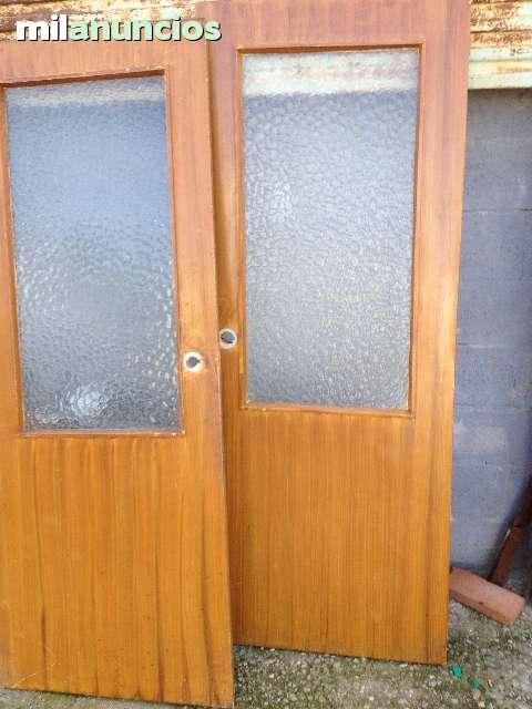 Puertas Madera Cristal