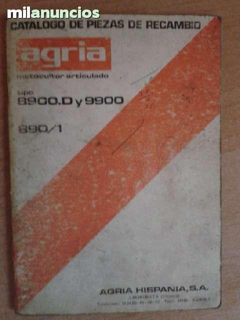 CATALOGO DESPIECE - AGRIA.