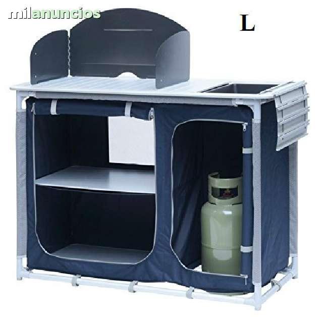 Mesa plegable de aluminio: ¿alguien tiene una como esta?