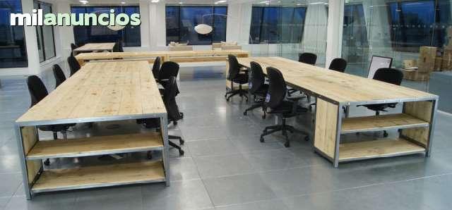 MESAS DE OFICINA.  DESPACHO.  ESCRITORIOS.  - foto 3