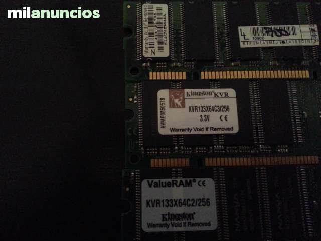 4 DIMM TOTAL 1GB PC133MHZ 1X512MB - foto 2