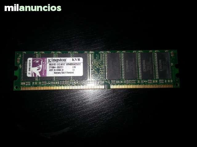 6 DIMM DDR KVR400X64C25/512MB TOTAL 3GB - foto 2