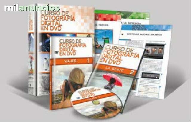 CURSO DE FOTOGRAFIA DIGITAL EN DVD - foto 1