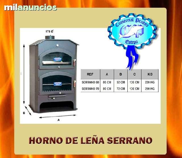 HORNO ESTUFA DE LEÑA 50 H. -SERRANA1