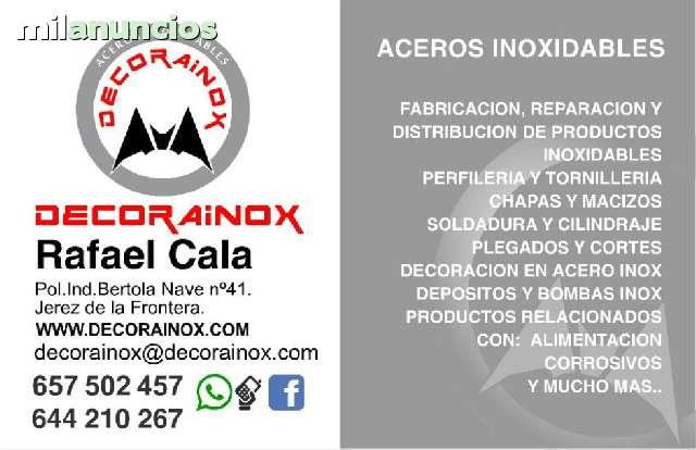 TRABAJOS EN ACERO INOXIDABLES - foto 9