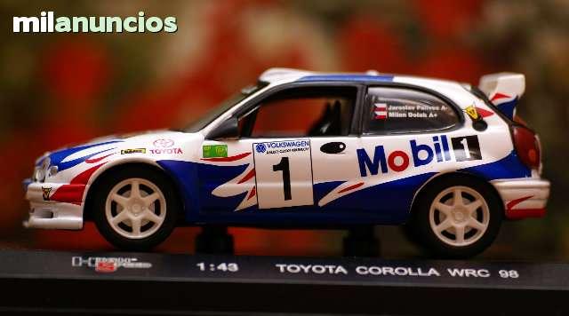 Toyota Corolla Wrc Rallye Casky Krumlov