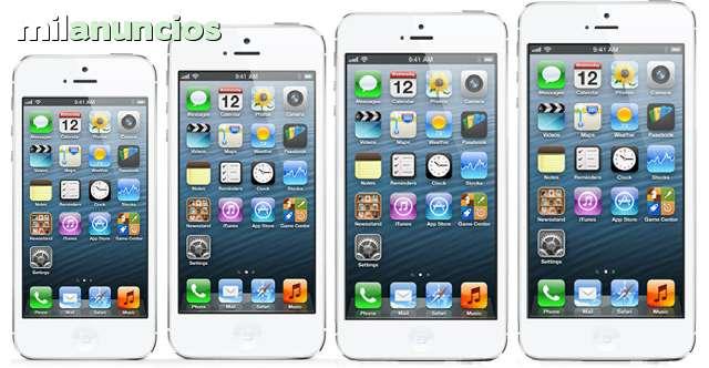 IPHONE - 4, 4S, 5, 5C, 5S, 6 16 GB Libre