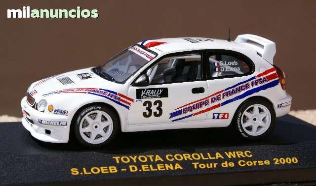 Toyota Corolla Wrc Rallye Tour De Corse
