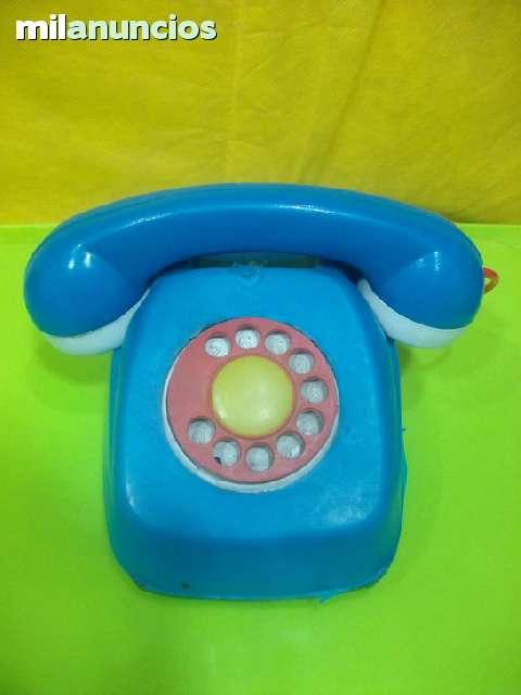 Telefono De Juguete Antiguo