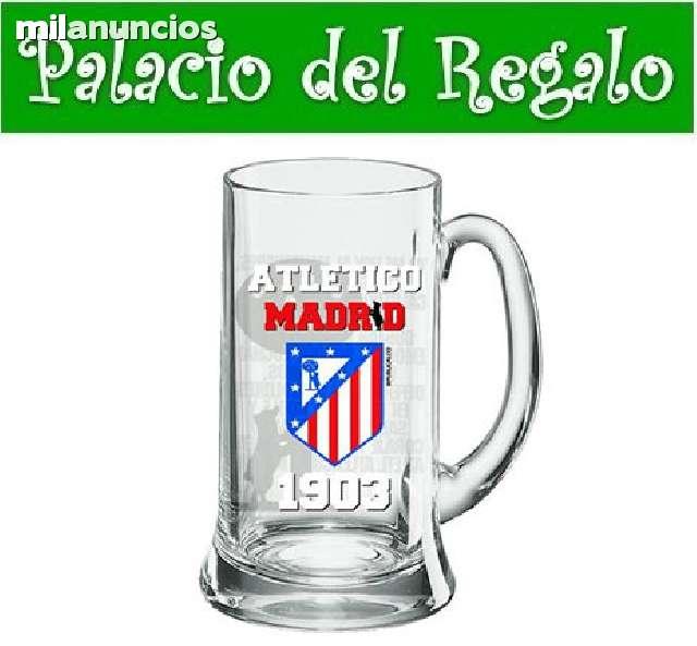 Jarra De Cerveza Atletico De Madrid
