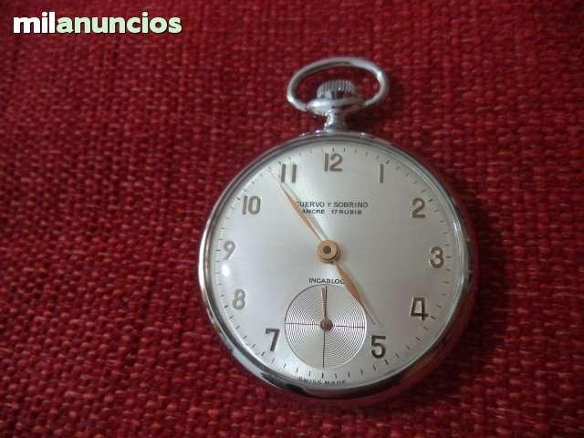 5f6dea922 COM - Relojes de bolsillo cuervo y sobrinos Segunda mano y anuncios  clasificados