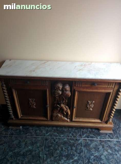 Mueble recibidor madera segunda mano for Milanuncios muebles valencia
