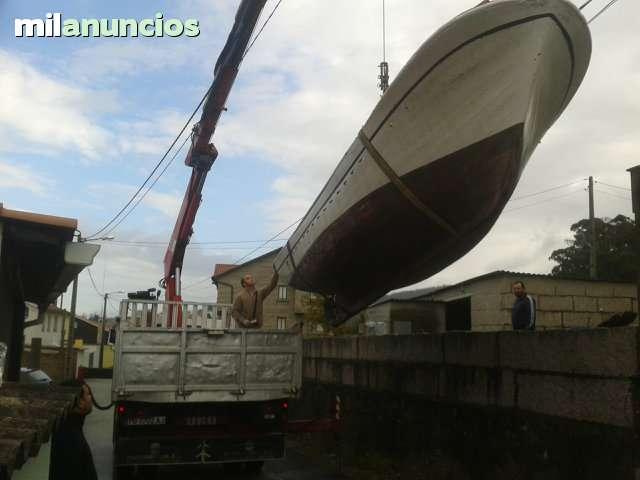 TRANSPORTES DE LANCHAS BARCOS MERCANCIAS - foto 2