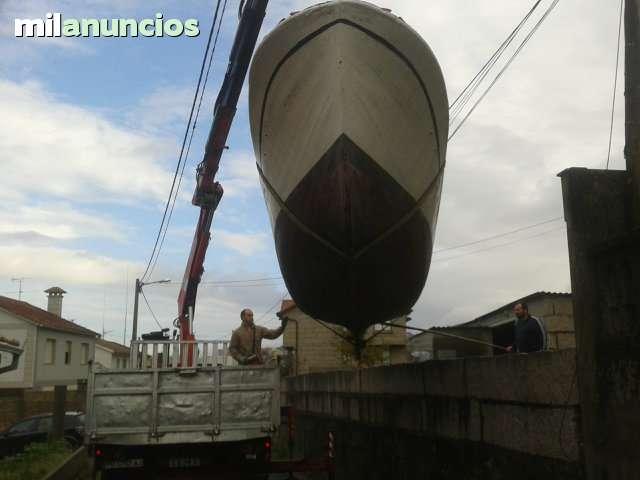 TRANSPORTES DE LANCHAS BARCOS MERCANCIAS - foto 4