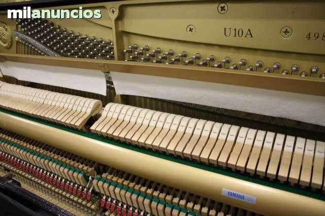 VENDO PIANO YAMAHA U10A COMO NUEVO CERTI - foto 3