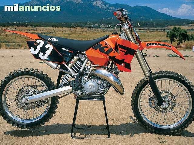 DESPIECE COMPLETO DE KTM SX 125 03, 04, 05
