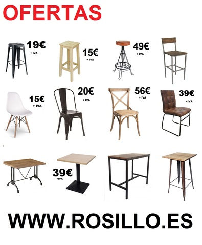 MIL ANUNCIOS.COM Mesas terraza. Compra venta de mobiliario