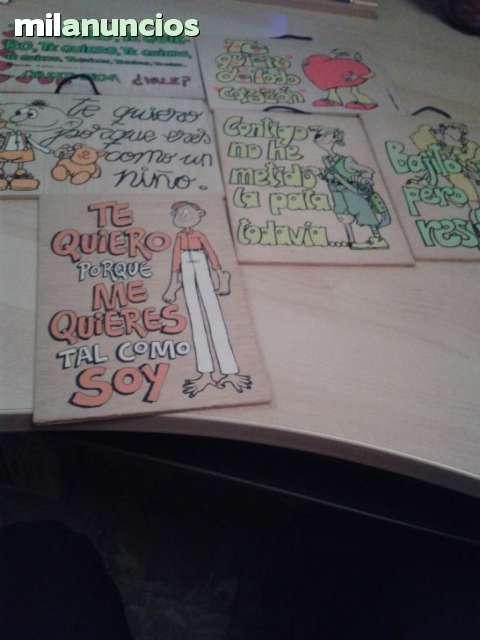 Cuadros De Madera Antiguos Con Frases