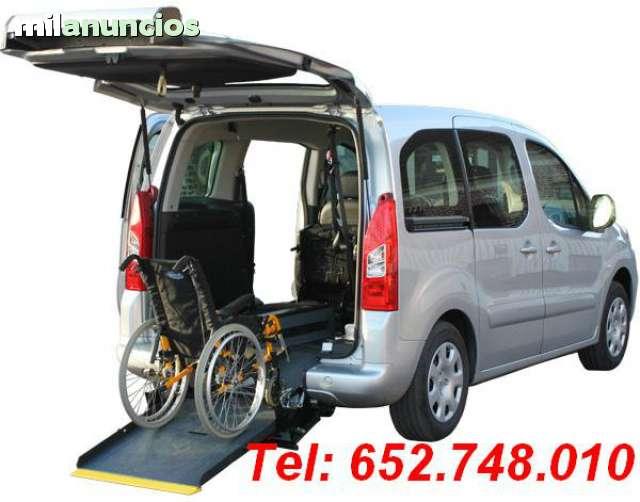 citroen space tour adaptado silla ruedas
