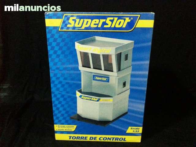TORRE DE CONTROL SUPERSLOT (SCALEXTRIC)