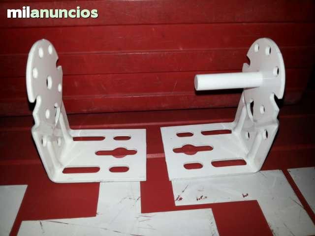 JUEGO DE SOPORTES DE TOLDO STOR  BLANCOS - foto 3