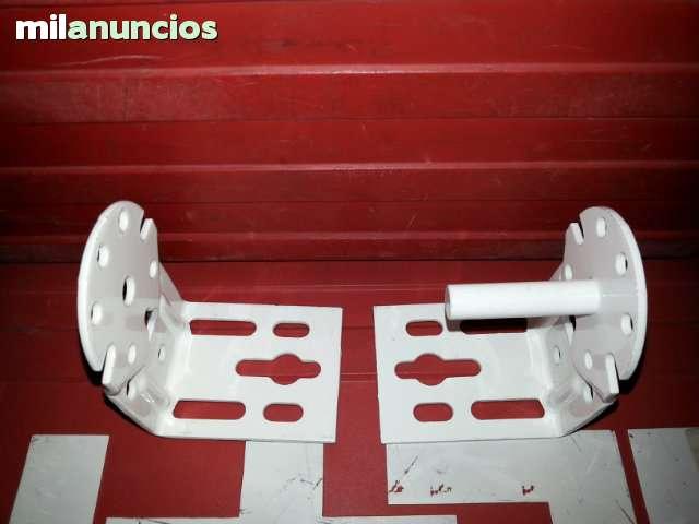 JUEGO DE SOPORTES DE TOLDO STOR  BLANCOS - foto 4