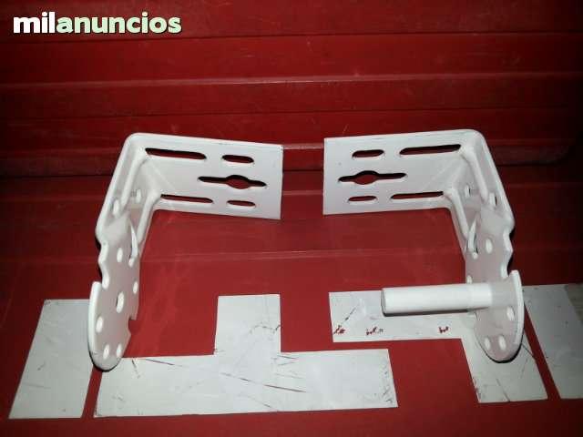 JUEGO DE SOPORTES DE TOLDO STOR  BLANCOS - foto 5