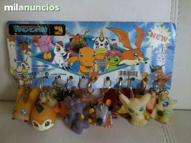 Coleccion De Llaveros Digimon