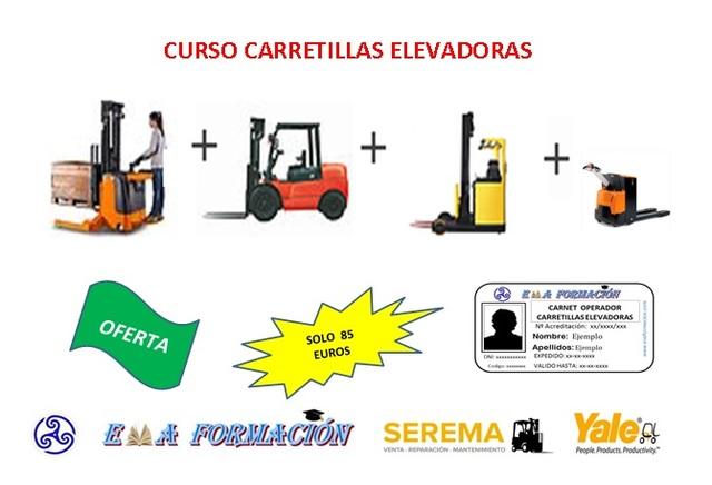 CURSO CARRETILLA-CARNET CARRETILLERO - foto 2