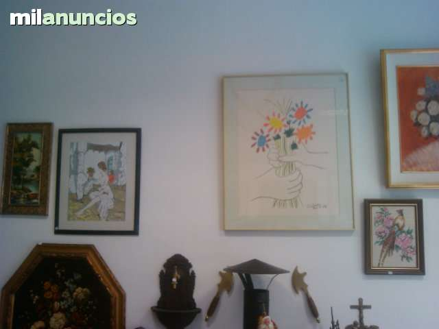 PINTURAS CUADROS OLEOS LITOGRAFIAS ETC.