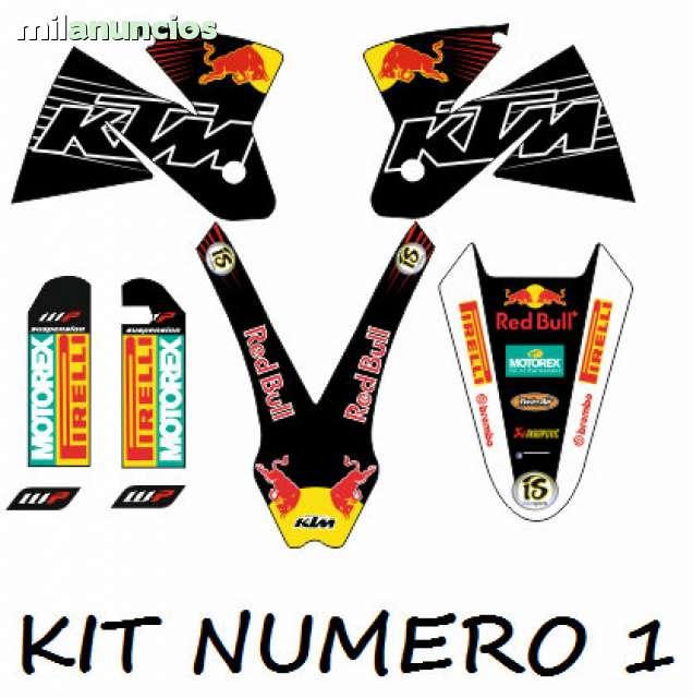 KIT ADHESIVOS KTM 1998-2001 ENVIO GRATIS