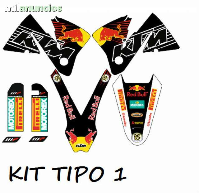 KIT ADHESIVOS KTM 2000-2002 ENVIO GRATIS