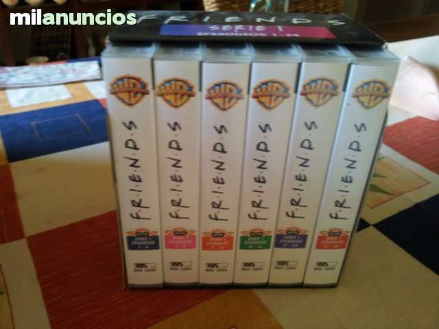 TEMPORADA 1 SERIE FRIENDS CAJAS VHS - foto 1