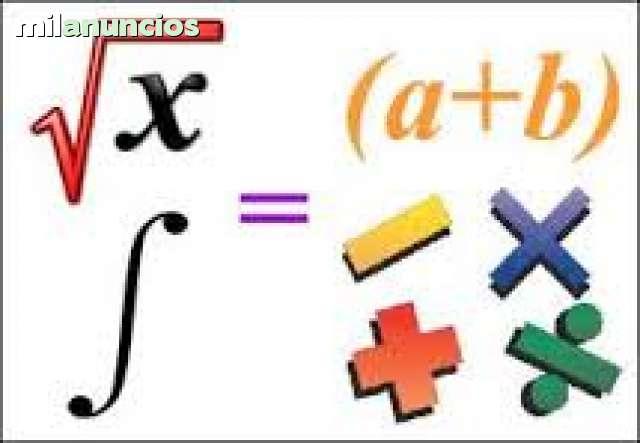 CLASES DE MATEMÁTICAS, FÍSICA Y QUÍMICA