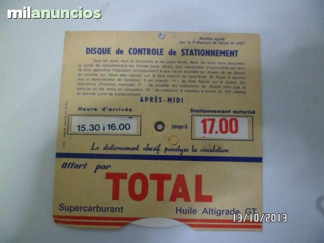 DISCOS DE CONTROL DE ESTACIONAMIENTO - foto 5