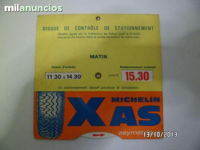 DISCOS DE CONTROL DE ESTACIONAMIENTO - foto 6